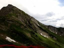 Горы со смотровой площадки