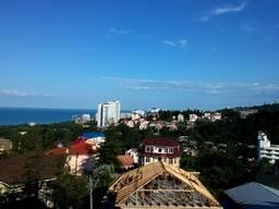 Вид с балкона отеля Машук