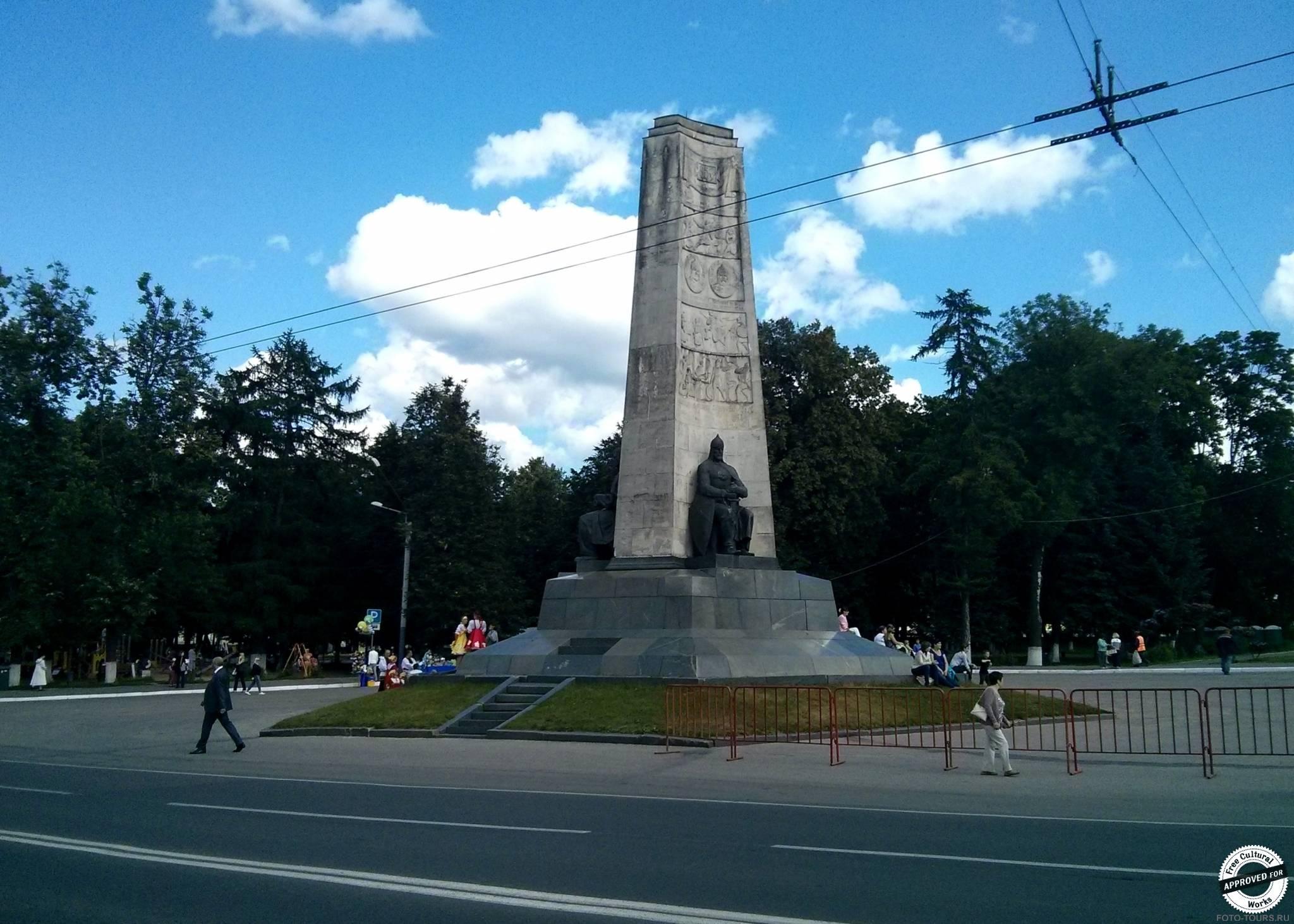 Монумент 850-летия Владимира