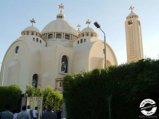 Основное здание Коптской ортодоксальной церкви