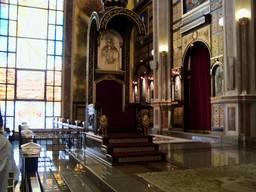 Внутреннее убранство  Коптской ортодоксальной церкви