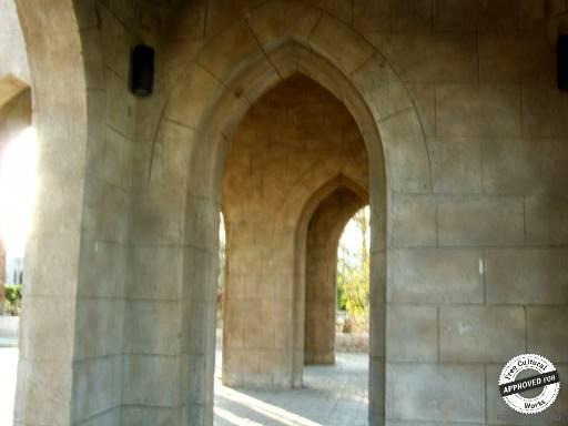 Мечеть Эль-Мустафа. Входные арки  мечети Эль-Мустафа