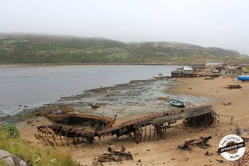 Заброшенные корабли и лодки.