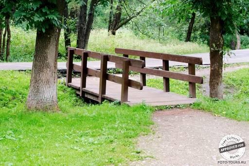 Измайловский парк. Мостки