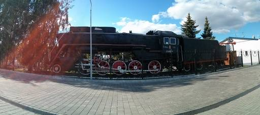 Паровоз Л-0801
