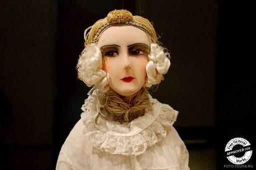 Куклы и мода в «Царицыно». Будуарная кукла