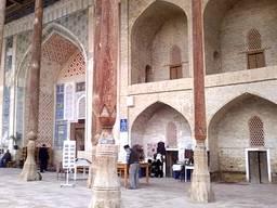 Мечеть боло-хауз (бывшая  главная пятничная мечеть Бухары)
