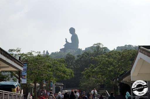 Вид на статую Большого Будды