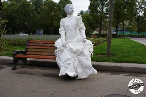 Лицедеи. Мимы в ЦПКиО Горького