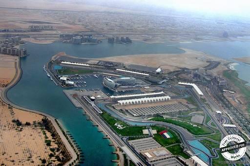 Аэропорт Абу-Даби. Аэропорт с высоты птичьего полета