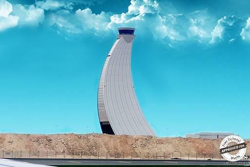 Аэропорт Абу-Даби. Диспетчерская башня