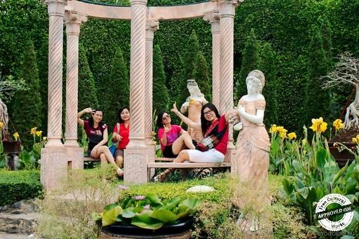 Итальянский сад.