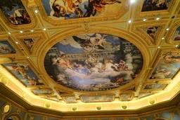 Фрагмент оформления потолка в The Venetian Macao
