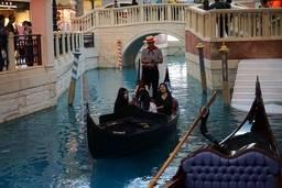 Гондольер в The Venetian Macao