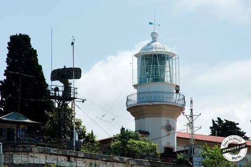 Сочинский маяк. Вид на Сочинский Маяк