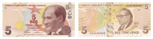 Валюта Турции.