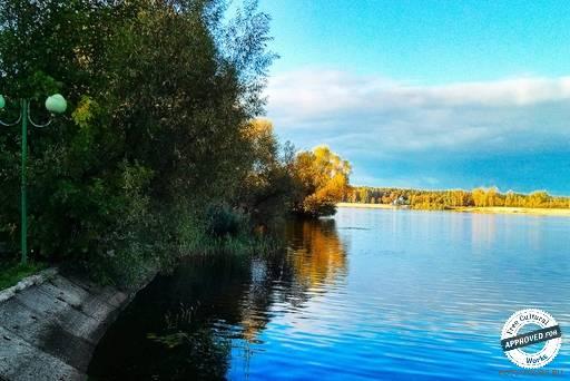 Городское озеро.