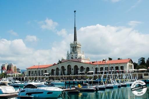 Морской вокзал. Здание вокзала