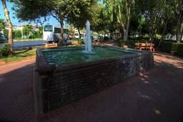 Фонтан в парке Конаклы