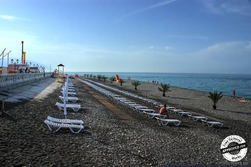 Имеретинская низменность. Имеретинский пляж