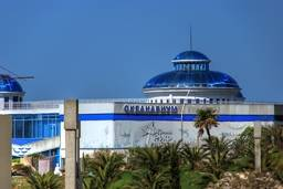 Здание крытого аквапарка