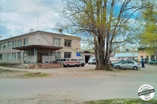 Больничный городок. Станция скорой помощи