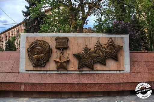 Аллея Героев.