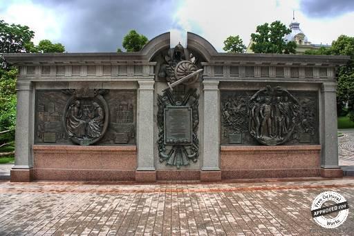 Стела посвященная войне 1812 года.