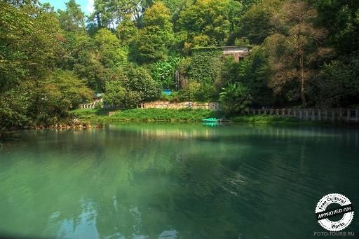 Озеро Псырцха.