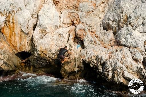 Пещера влюбленных.