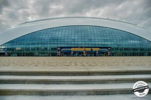 Олимпийский парк. Ледовый дворец «Большой»