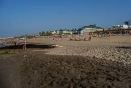 Частный пляж и пирс отеля Hedef Resort & Spa