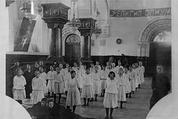 Дворец Труда имени Льва Троцкого в помещении Георгиевского собора