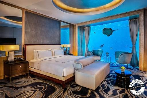 Atlantis Sanya. Люкс «Подводное царство Нептуна»