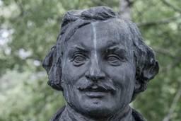 Портрет Гоголя, Виленский З.М. 1937-1950, бронза