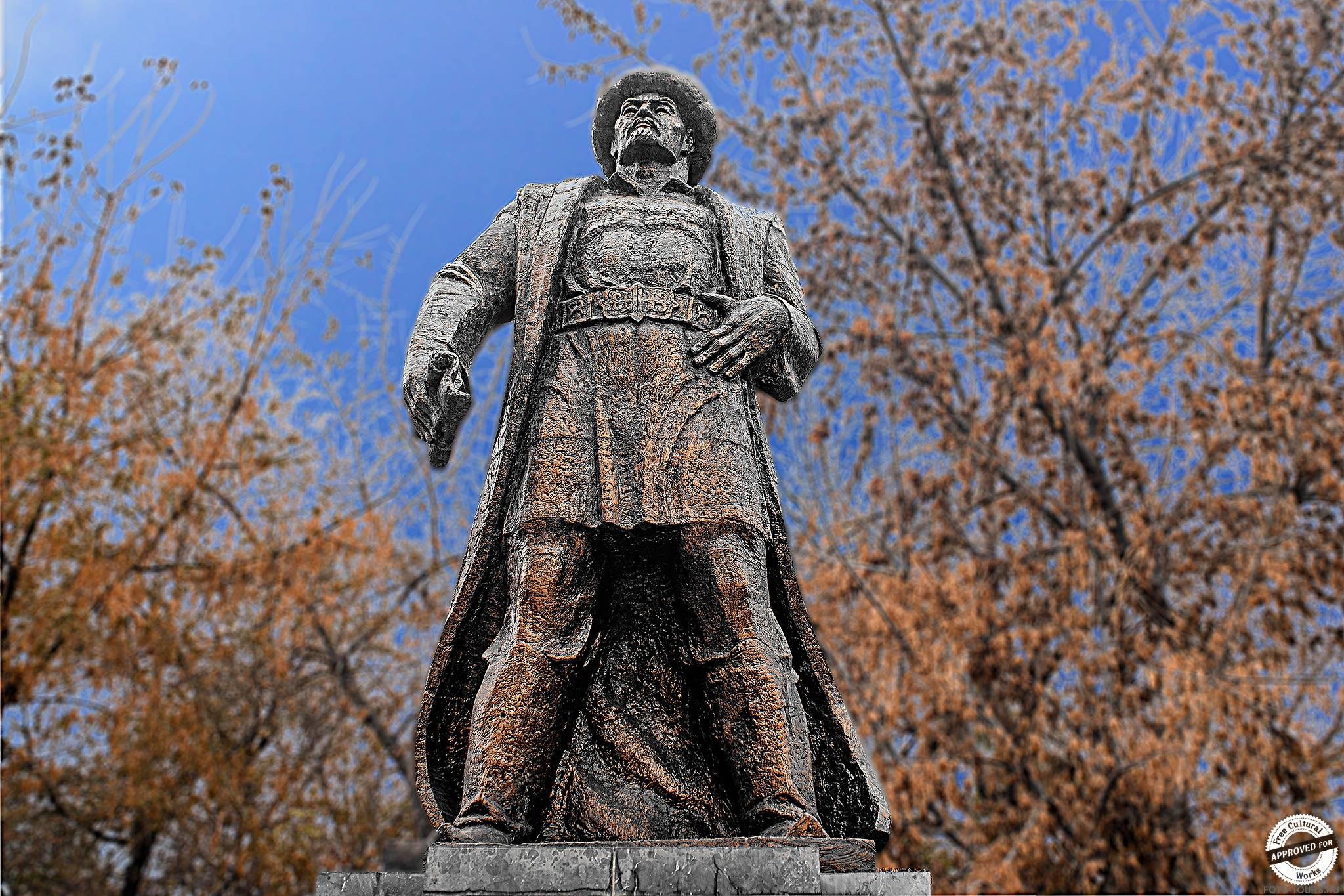 Алымбек-датка в Оше, Киргизия, Азия.