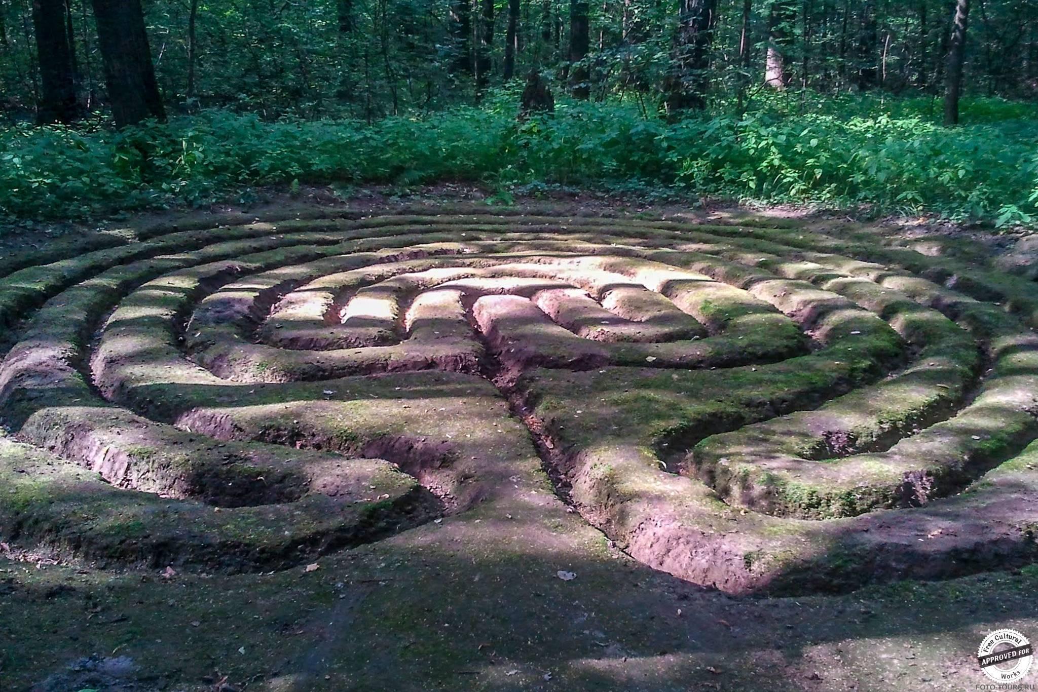 Таинственные круги, Измайлово, Парки москвы.