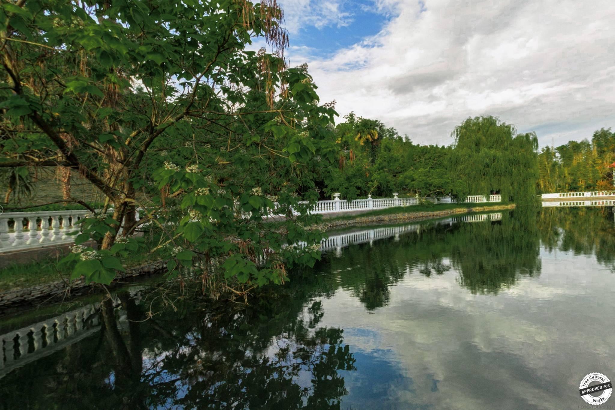 Парк «Южные культуры» в Адлере, Сочи, Россия.